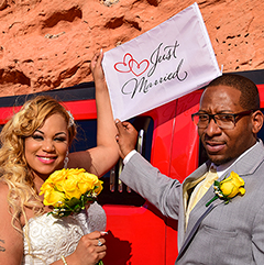 Just Married @ Valley of Fire