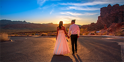 Valley of Fire Wedding in Las Vegas