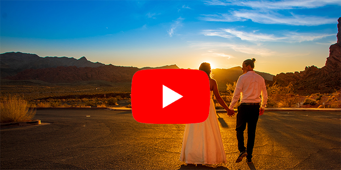 Valley of Fire Sunset Wedding Video